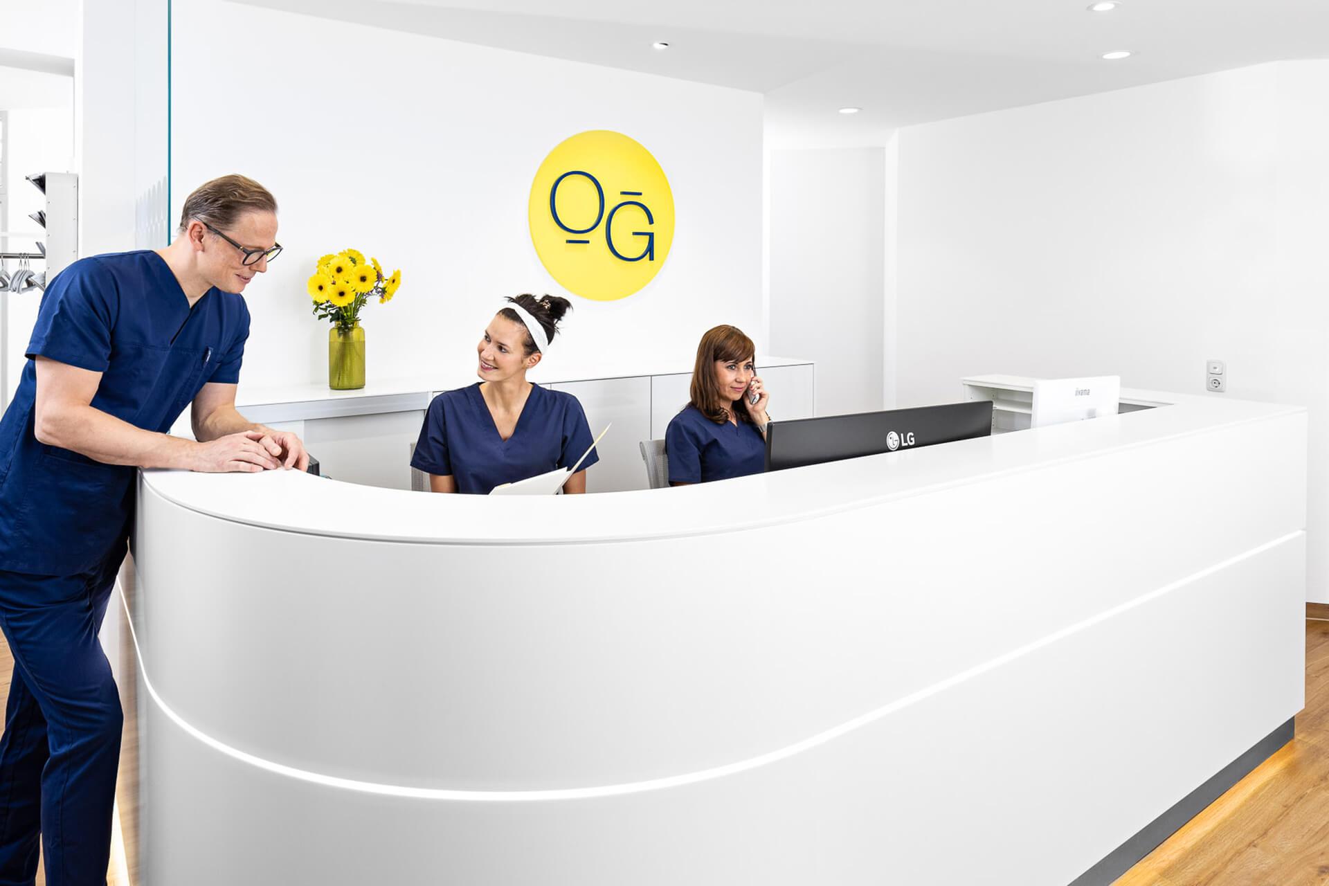 Rezeption der Oralchirurgie Grimma